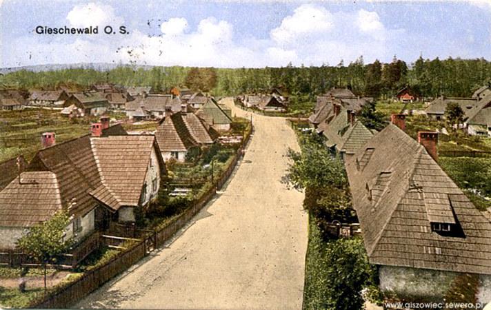 """Nazwa Giszowiec (niem. Gieschewald) pochodzi od nazwy kopalni """"Giesche"""" Źródło: www.giszowiec.info /&nbsp"""