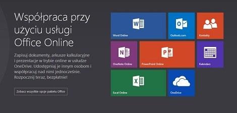Nazwa Office Web Apps została zmieniona na Office Online. /materiały prasowe
