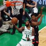 NBA. Boston lepszy od Toronto, double-double Irvinga