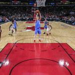 NBA: Kolejny świetny mecz Doncica, szalona końcówka w Miami