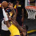 NBA. Lakers w play-offach. LeBron James dał zwycięstwo nad Warriors
