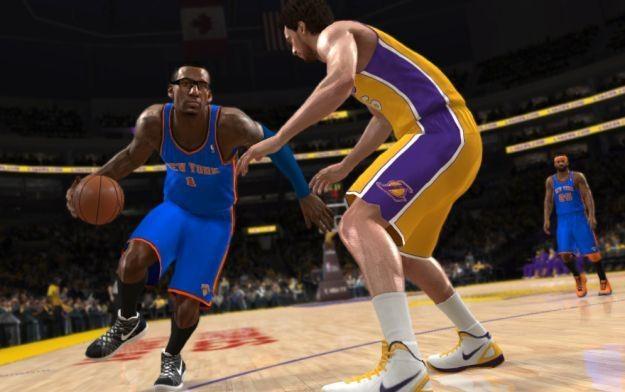 NBA Live 13 - motyw graficzny z gry, która jednak nie powstanie /Informacja prasowa
