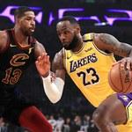NBA. Los Angeles Lakers zdeklasowali Cleveland Cavaliers