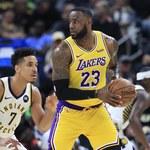 NBA. Porażka Lakers w Indianapolis