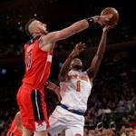 NBA. Washington Wizards przegrali z New York Knicks. Słaby mecz Marcina Gortata