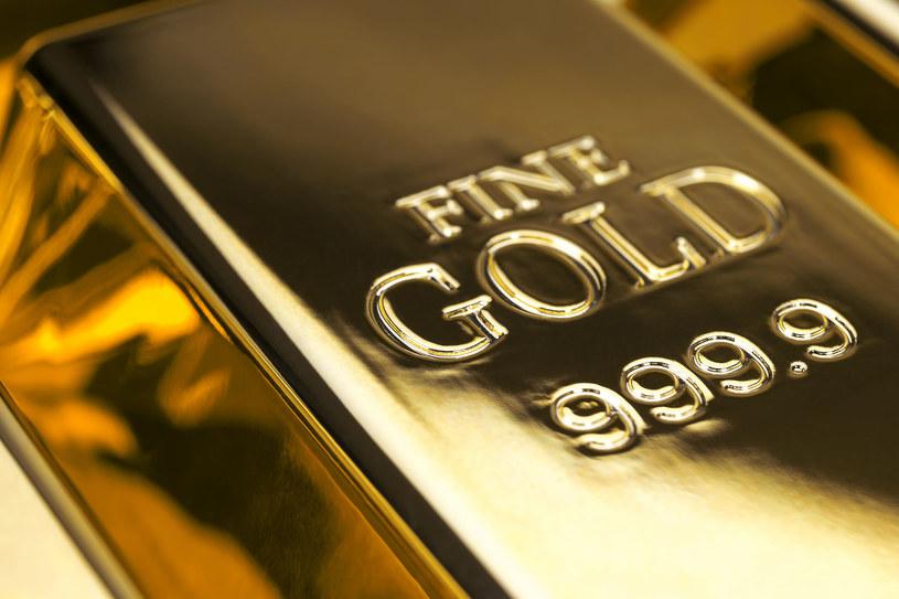 NBP zgromadził złoto znacznej wartości. Zdj. ilustracyjne /123RF/PICSEL