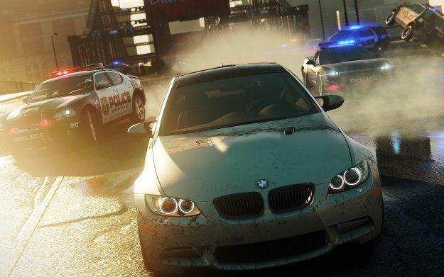 Need for Speed: Mosts Wanted - motyw graficzny /Informacja prasowa