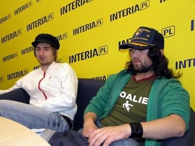 Negatyw (Mietall Waluś z lewej) /INTERIA.PL