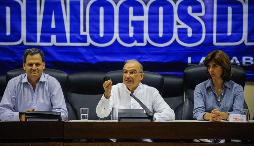 Negocjacje prowadzono w Hawanie /YAMIL LAGE /AFP