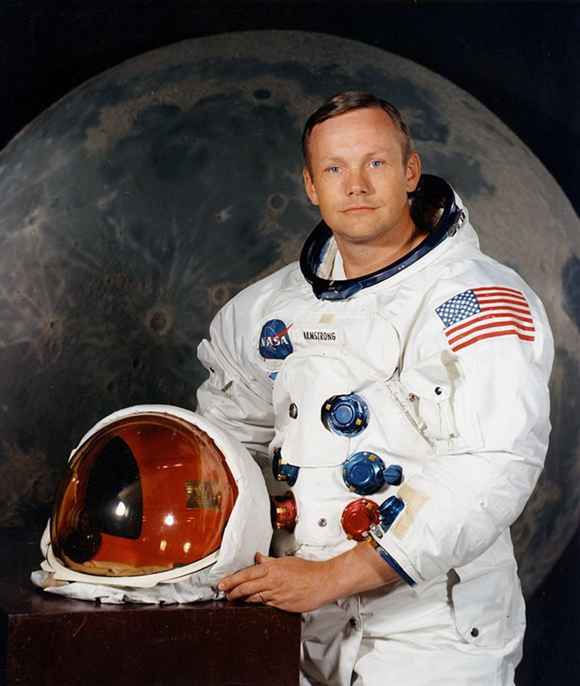 Neil Armstrong /AFP