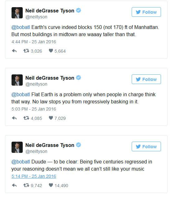 Neil deGrasse Tyson na Twitterze /