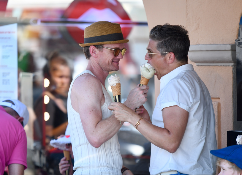 Neil Patrick Harris i David Burtka /East News