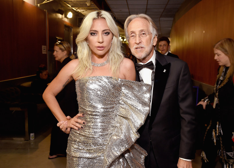 Neil Portnow w towarzystwie Lady Gagi /Michael Kovac /Getty Images