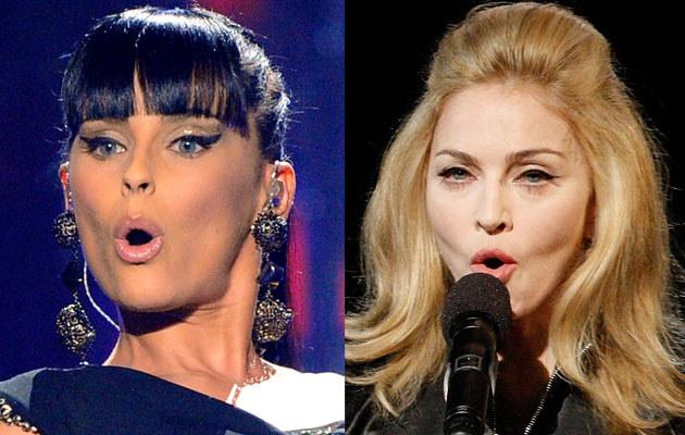 Nelly Furtado, fot. Kevork Djansezian; Madonna, fot. Christopher Polk  /Getty Images/Flash Press Media