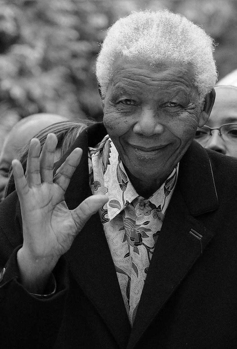 Nelson Mandela zmarł w wieku 95 lat. /AFP