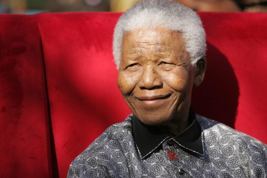 Nelson Mandela /Kim Ludbrook  /PAP/EPA