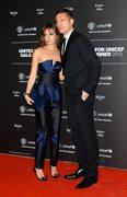 Nemanja Vidić i jego żona Ana