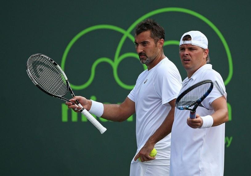 Nenad Zimonjic i Marcin Matkowski /AFP