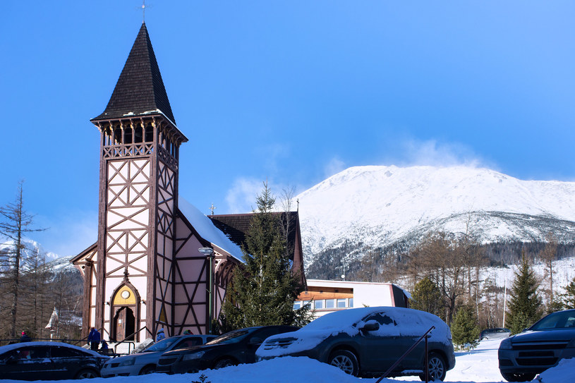 Neogotycki kościół w Starym Smokowcu z 1888 roku /123RF/PICSEL