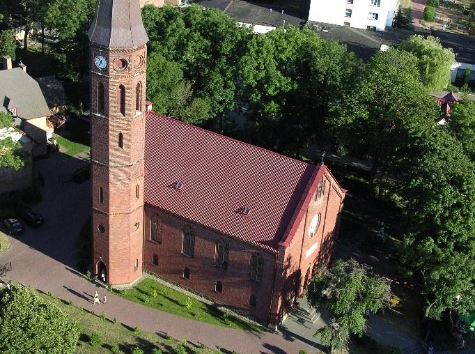 Neogotycki kościół z 1856 roku /materiały prasowe