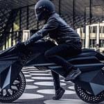 Nera E-Bike  - motocykl rodem z Cyberpunka 2077