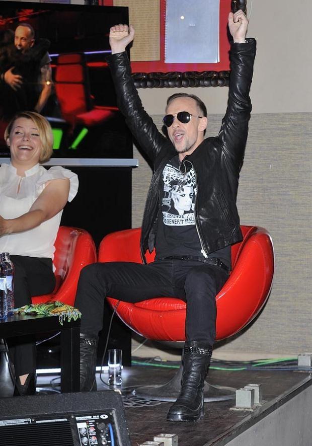 Nergal ma powody do radości. Fot. Jarosław Antoniak  /MWMedia