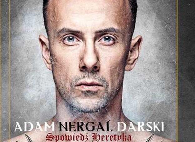 """Nergal na czacie opowie o książce """"Sacrum Profanum. Spowiedź heretyka"""" /"""
