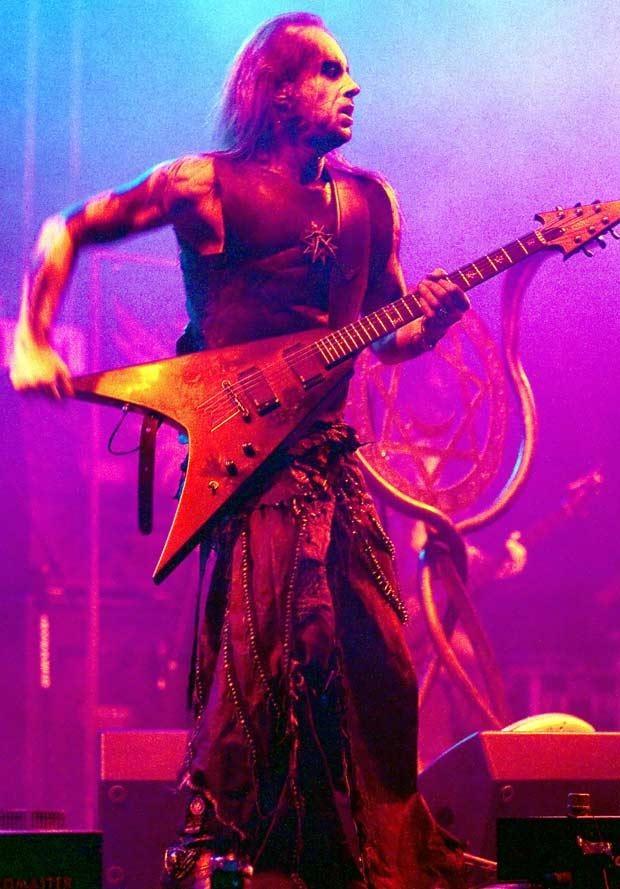 Nergal na scenie, fot. Marek Lapis  /Agencja FORUM