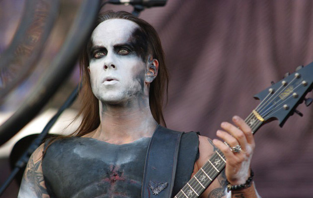 Nergal podczas koncertu Behemotha na Bemowie, fot.Kuba Wieczorek