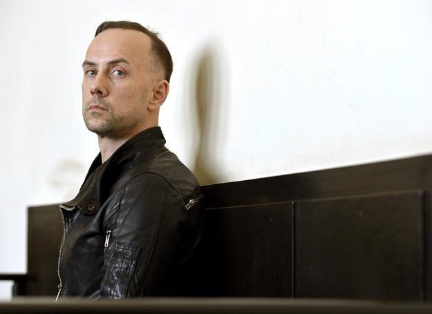 Nergal przed sądem w Gdyni - fot. Adam Warżawa /PAP