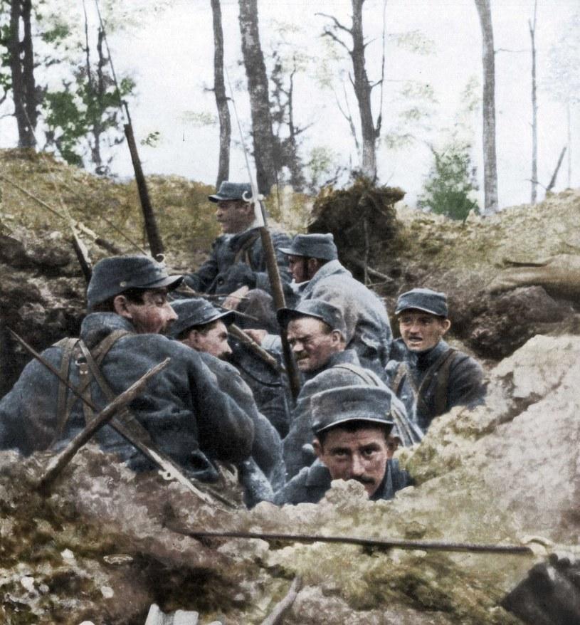 Nerwica frontowa zbierała okrutne źniwo wśród żołnierzy /Getty Images