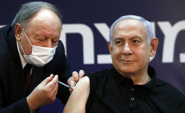 """Netanjahu zaszczepiony przeciwko Covid-19. """"Wierzę w tę szczepionkę"""""""