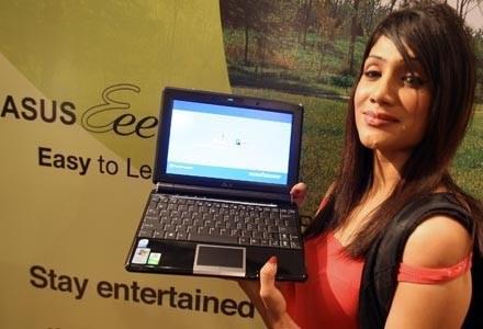 Netbooki oferuje coraz więcej firm, chce do nich dołączyć także Epson. Na zdjęciu Eee PC Asusa /AFP