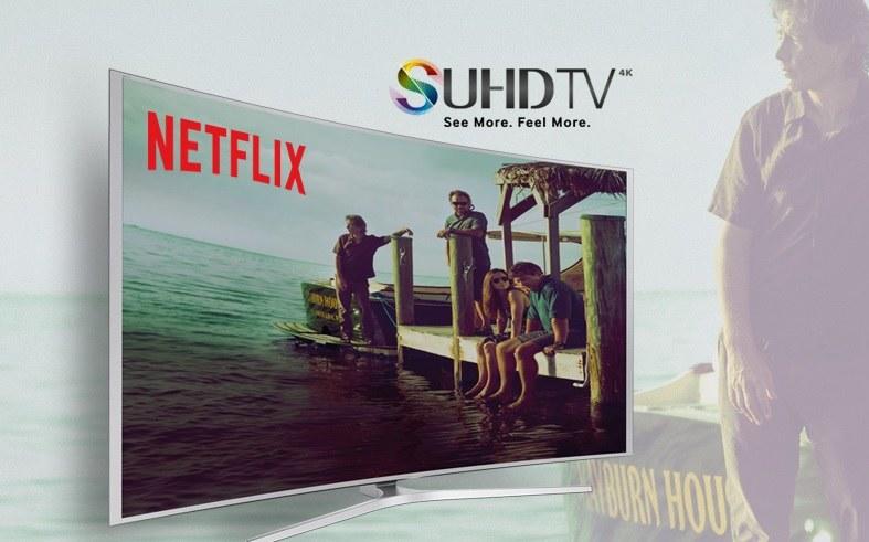 Netflix dostępny na platformie Samsung Smart TV /materiały prasowe