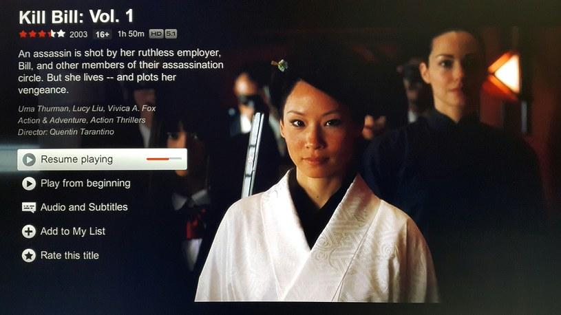 Netflix obsługiwany z poziomu konsoli Xbox One - języka polskiego w menu na tę chwilę brak. /materiały prasowe
