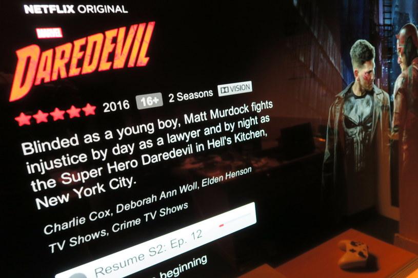 Netflix w HDR (w przypadku telewizora LG - w technologi Dolby Vision) /INTERIA.PL