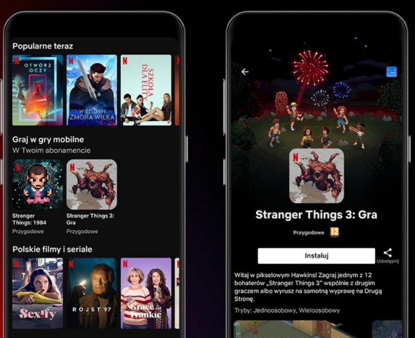 Netflix wchodzi do świata gier /materiały prasowe