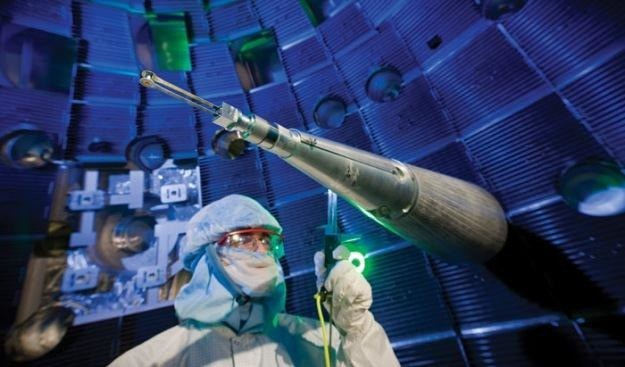 nętrze komory. Fot. Lawrence Livermore National Laboratory /materiały prasowe