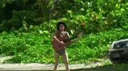 Neurotyczna Amy z gitarą