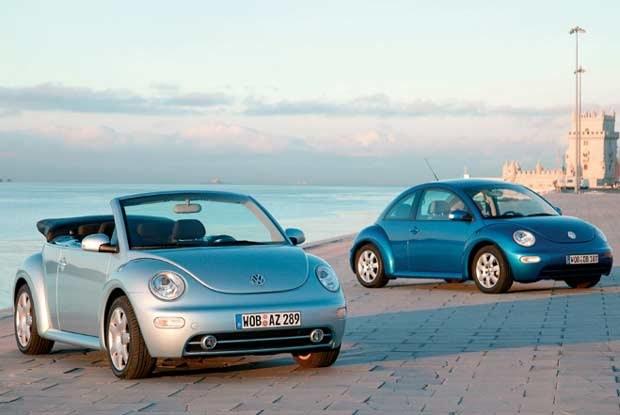 New Beetle Cabriolet i New Beetle / kliknij /INTERIA.PL