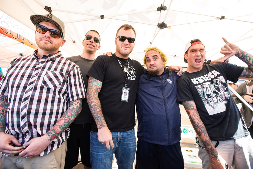 New Found Glory /Chelsea Lauren /Getty Images