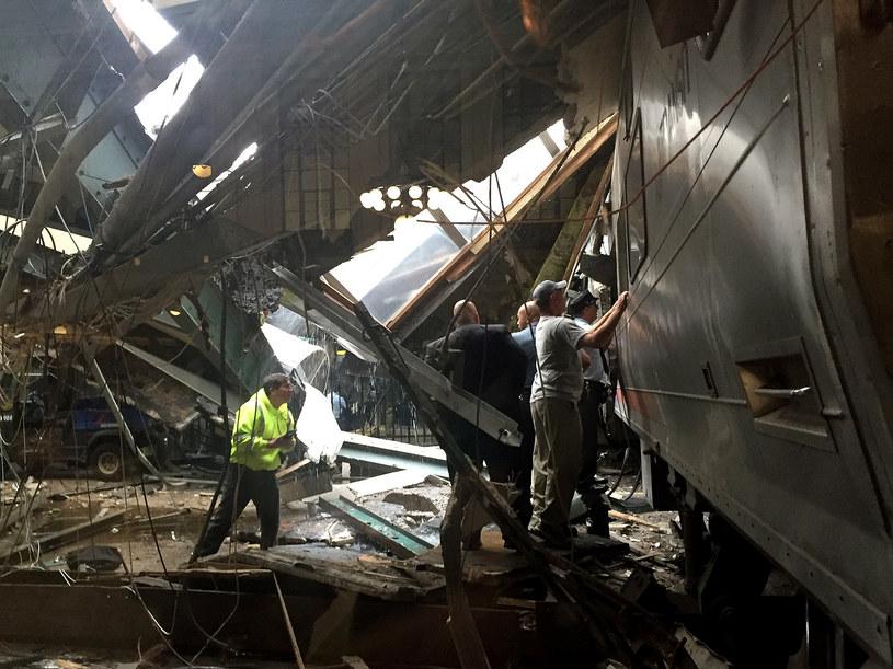 New Jersey: Miejsce katastrofy /AFP