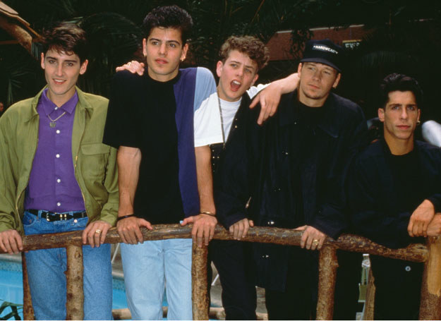 New Kids On The Block  /Getty Images/Flash Press Media