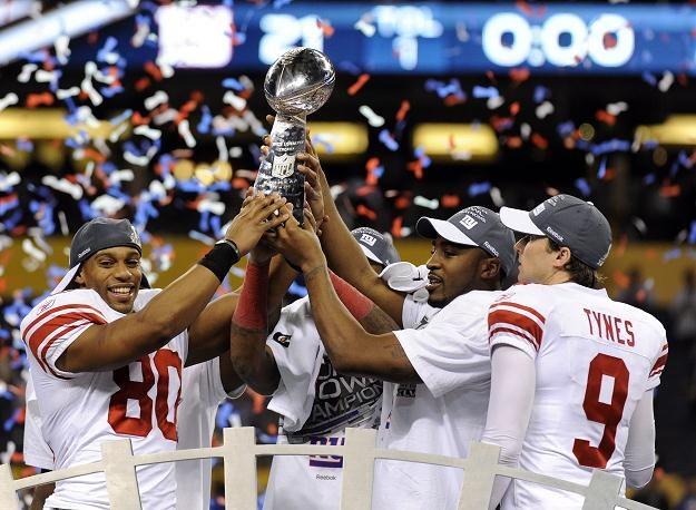 New York Giants wygrali Super Bowl /PAP/EPA