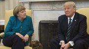 """New York Times"" o kulisach spotkania Trump-Merkel"