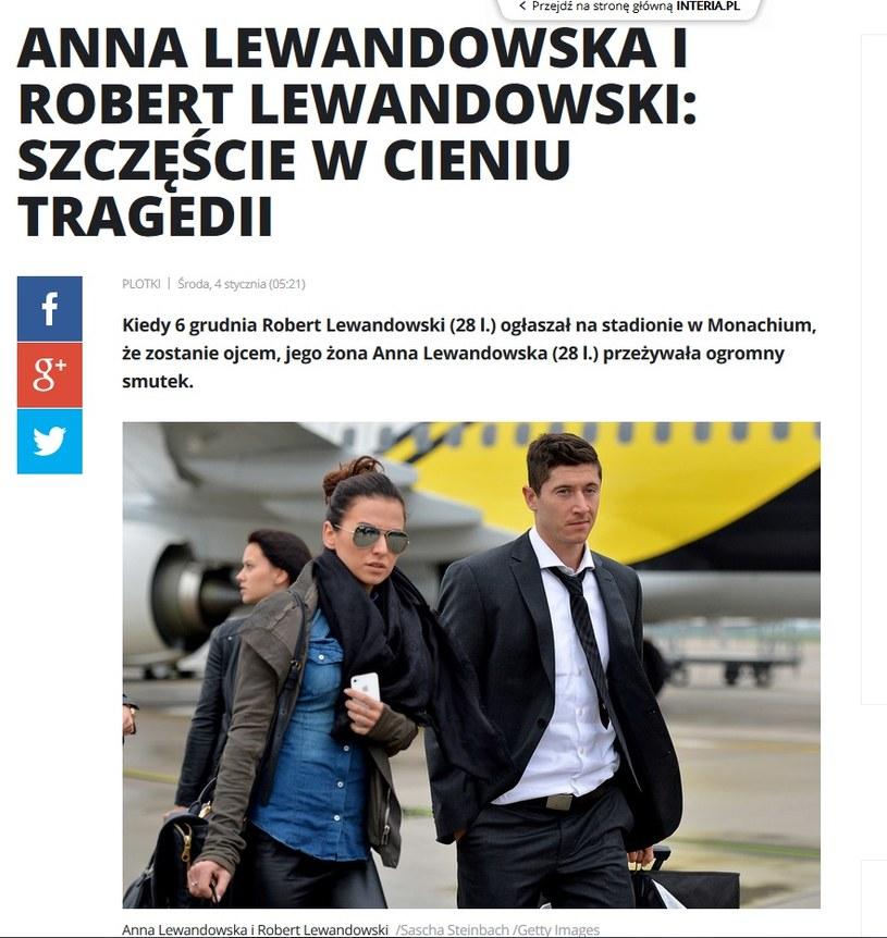 News o Annie Lewandowskiej /pomponik.pl