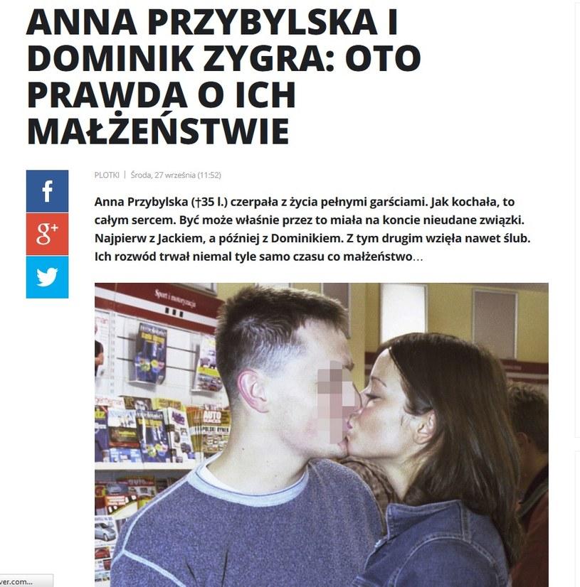News o Annie Przybylskiej /pomponik.pl