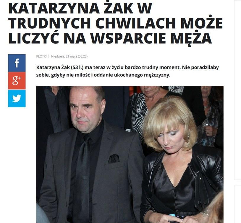 News o Katarzynie Żak /pomponik.pl