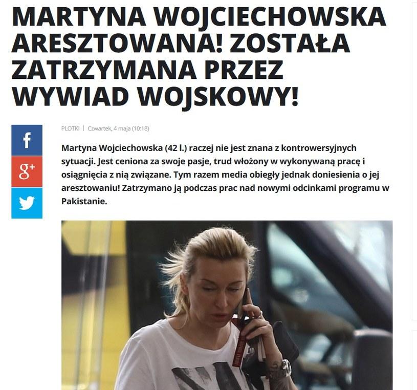 News o Martynie Wojciechowskiej /pomponik.pl