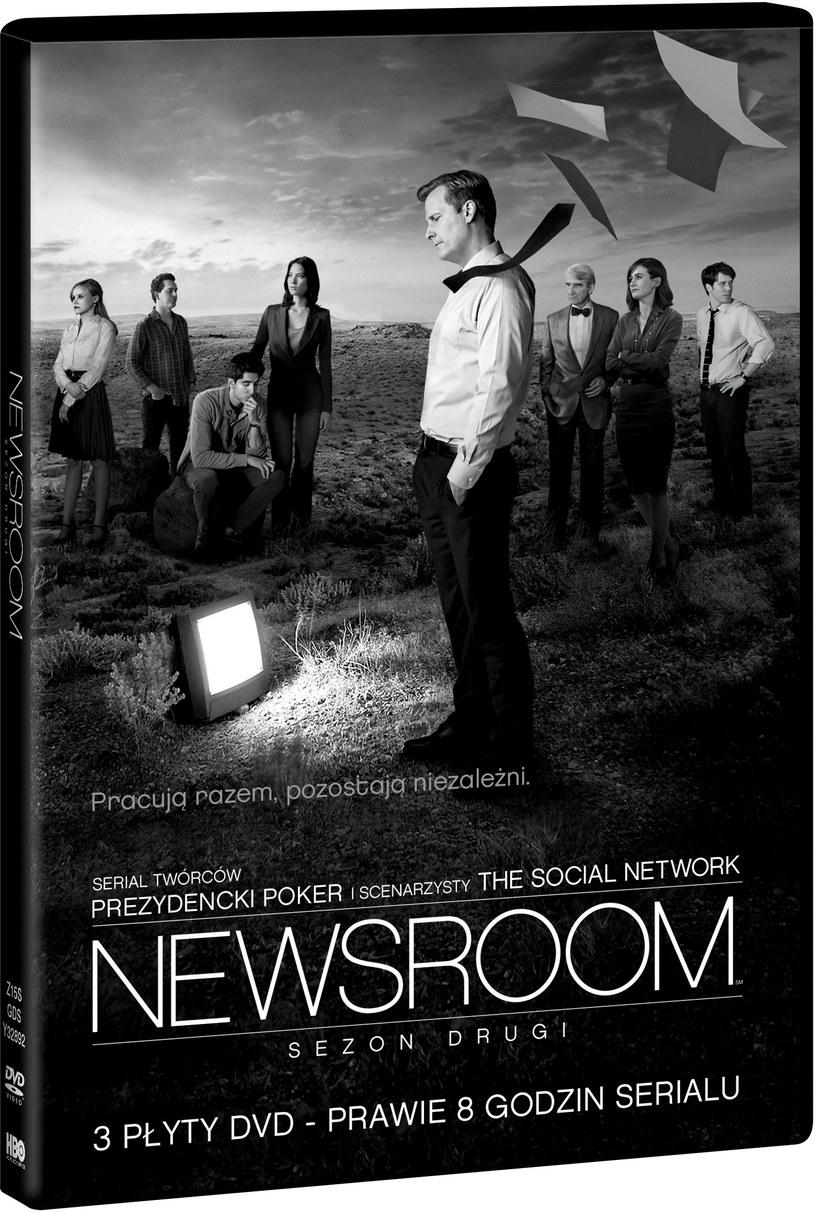"""Newsroom"", sezon 2. /materiały dystrybutora"